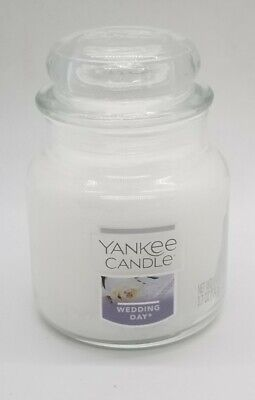 Yankee Candle - Small Jar 3.7oz - WEDDING DAY SCENT w/LID - NEW TAGS