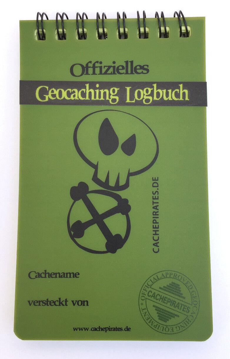 5 x Geocaching Logbücher Dosen 40 Seiten Logbuch Behälter Versteck Dose