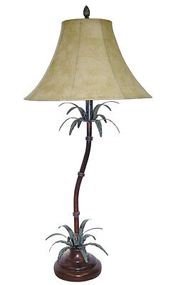 US Made Tropical Bamboo Table Lamp 39