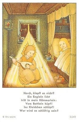 "Fleißbildchen Heiligenbild Gebetbild Andachtsbild  Holy card Ars sacra"" H777"""