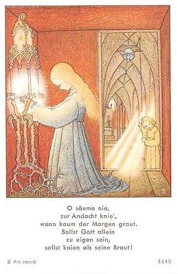 "Fleißbildchen Heiligenbild Gebetbild Andachtsbild  Holy card Ars sacra"" H779"""