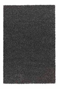 Black ikea rug $50 Alhede high pile