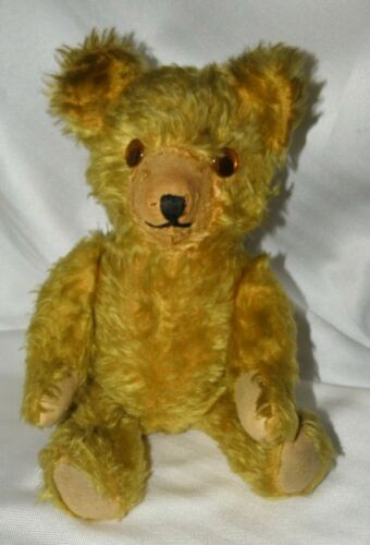 ANTIQUE SCRUFFYGOGGLY EYED TEDDY BEAR~MOVEABLE ARMS & LEGS <>RARE<>