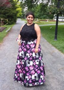 2 piece prom dress!