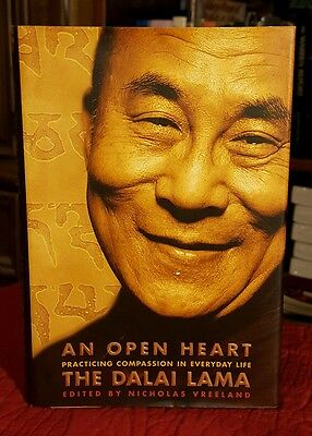 An Open Heart   The Dalai Lama Practicing Compassion In Everyday Life 2001 Hcdj