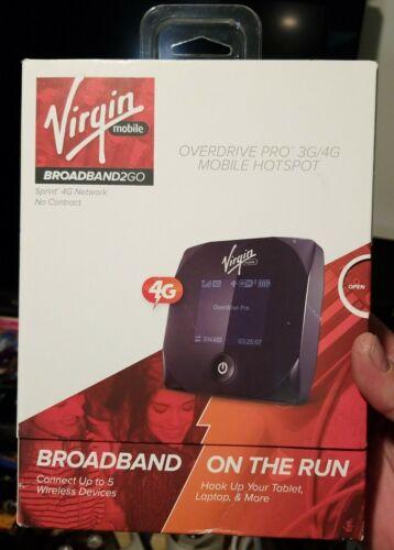 Virgin Mobile Overdrive PRO 3G/4G Mobile Hotspot Sprint Netw