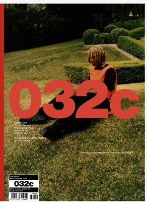 032c MAGAZINE-FANZINE INSERT KRISTEN STEWART-SUMMER 2019-PLAYBOI CARTI COVER