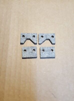 Emco Maximat V10 V10p Metal Lathe Felt Way Wiper Set New