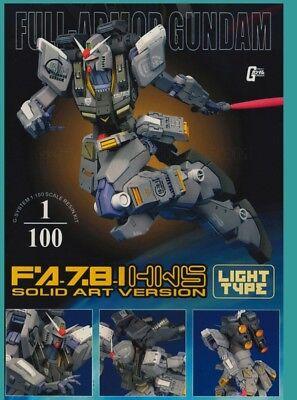 Unpainted  g system best 1/100 c3 2002 fa78 full armor , light (Best Sci Fi Armor)