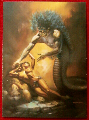 IMAGES OF JOSEPHINE - Individual Card #67 - QUETZALCOATL - Boris Vallejo