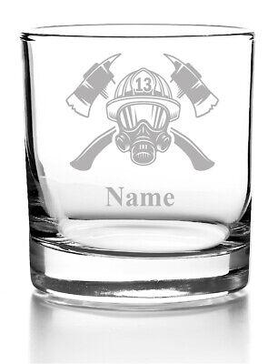 Whiskyglas mit Gravur Whisky Glas personalisiert mit Name Geschenkidee Feuerwehr