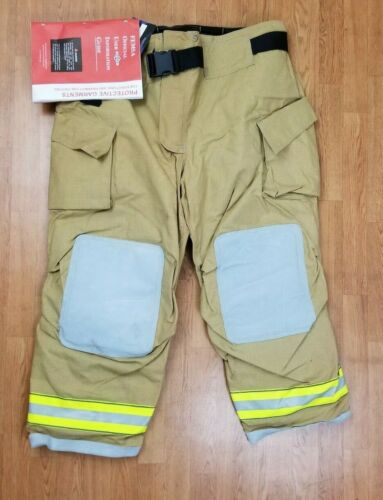 Cairns MFG. 2012 NEW Firefighter Turnout Bunker Pants 48 x 30