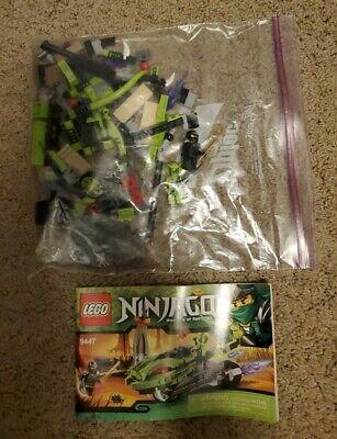 Lego Ninjago Lasha's Bike Cycle 9447 Complete W/ Minifigures and Manual