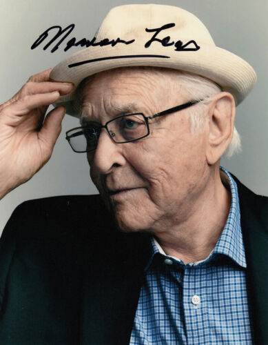 Norman Lear authentic signed All in the Family 10x8 photo AFTAL & UACC [15745]