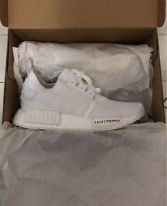 Adidas NMD R1 triple white japan pack edition size 5 North Ryde Ryde Area Preview