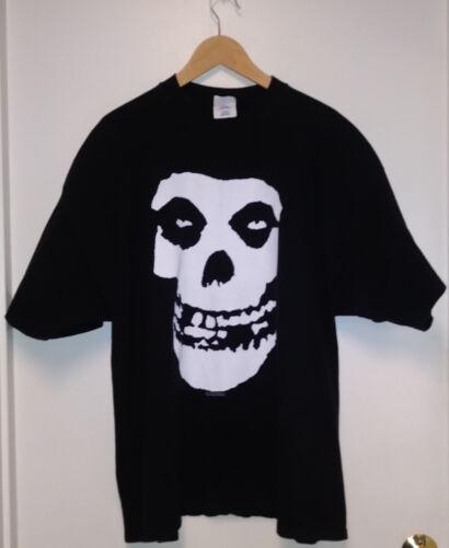 Misfits Fiend Skull 2001 Shirt Black Size 3X Large Horror Punk Rock