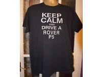 """Rover SD1 /""""Rusty Nuts Garage Services/"""" T-shirt"""