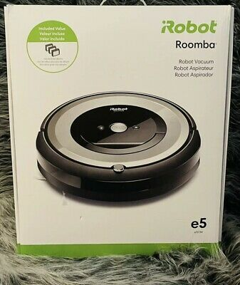 iRobot Roomba E5 5134 WiFi Connected Robot Vacuum new sealed