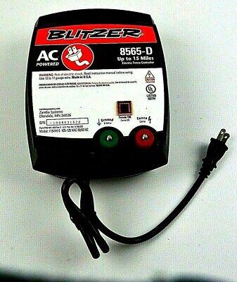 Zareba Blitzer 8565-d Electric Fence Controller 15 Mile Range