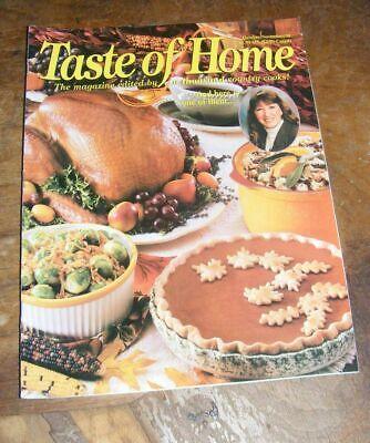 Taste of Home Magazine Oct/Nov 1998 Halloween Hunter's Helpings Brownies Low-Fat](Taste Of Home Halloween Magazine)