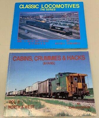 Classic Locomotives Szachacz & Cabins Crummies Hacks Henderson Vol 3 Clean Books