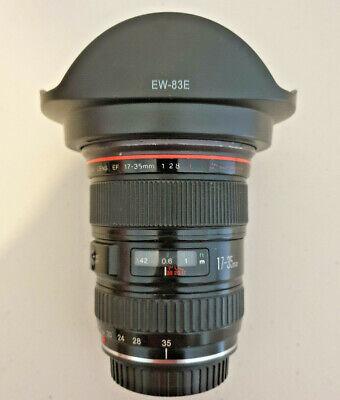 Canon EF 17-35mm f/2.8 USM L Lens + EW-83E lens hood