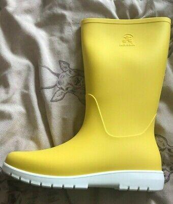 Kamik Yellow size UK 6 (US8) Jessie wellie