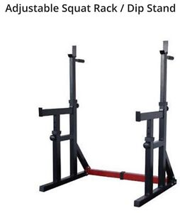Squat, Dip & Bench Press Rack all in one Southern River Gosnells Area Preview