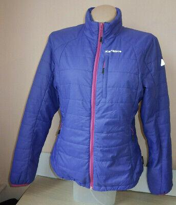 Icepeak Womens Primaloft Ultralight Thermal Hi Viz Jacket Size UK 16, EU 42 comprar usado  Enviando para Brazil