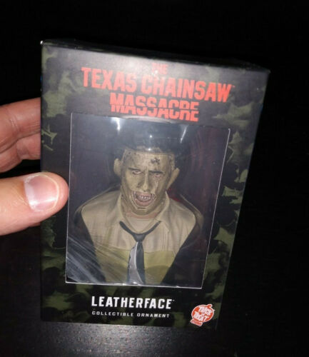 Leatherface Ornament / Bust - Trick or Treat Studios The Texas Chainsaw Massacre