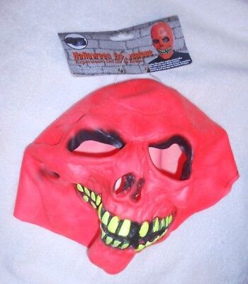 Halloween Expressions Scary Latex Mask - NEW w/Tag - Halloween Expressions