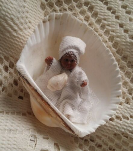 BABY OBATALA POCKET DOLL -Original Creation, Orishas, Santeria