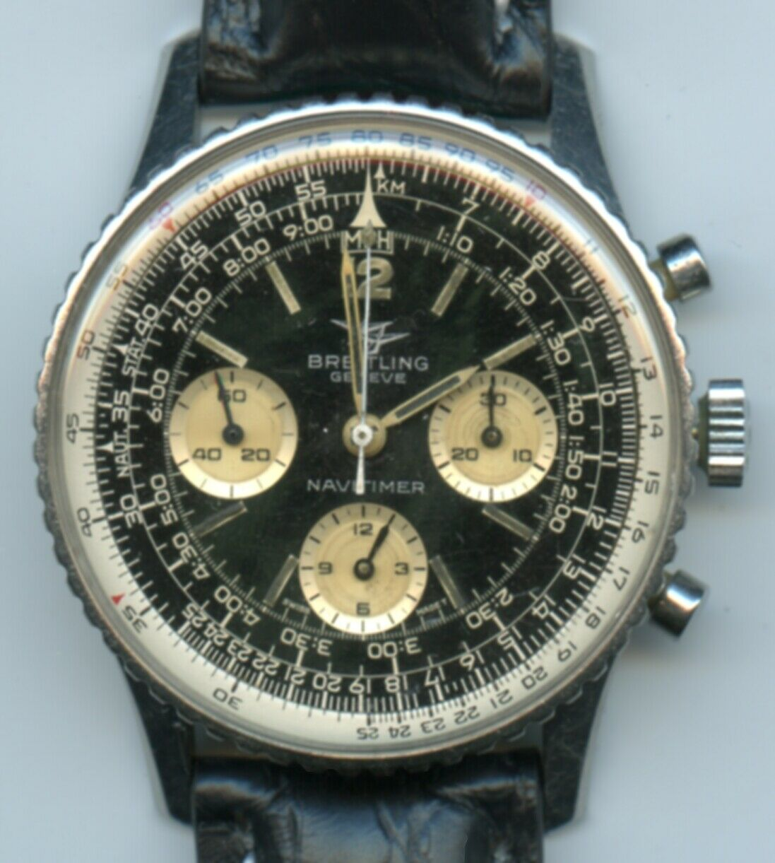 Vintage Breitling 806 Navitimer Original COPA (Canada's AOPA) Papers.  Works! - watch picture 1