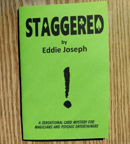 Staggered by Eddie Joseph (For psychic entertainers and magicians)