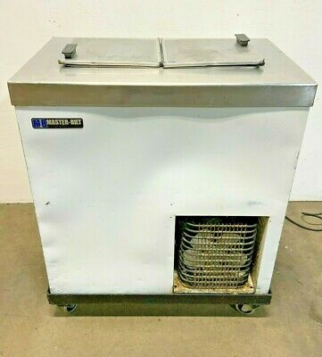 Master-bilt Dc-2s 32 Flip Lid Ice Cream Freezer Dipping Cabinet Stand Alone E9a