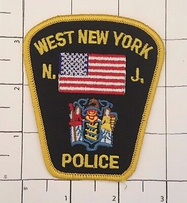 West New York Police Hat Patch - New Jersey