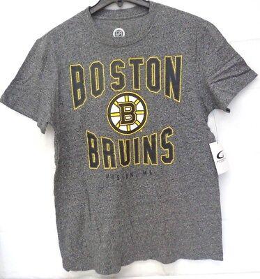Boston Bruins Men's L G-III Short Side Mock Twist Top Shirt 065 ()