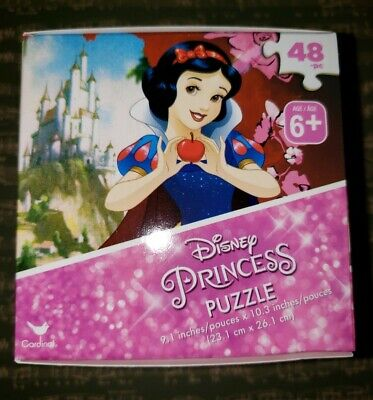 "DISNEY PRINCESS PUZZLE Featuring Snow White. 48 piece 9.1""/10.3"""