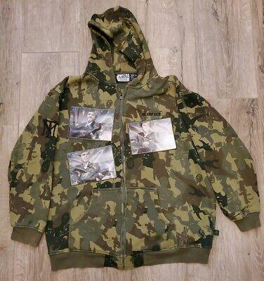 SCARFACE CLOTHING COMPANY Tony Montana Mens Camo Cotton Hoodie Jacket  3XL