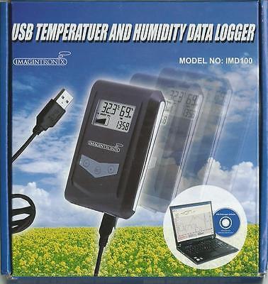 Usb Temperature Humidity Data Logger