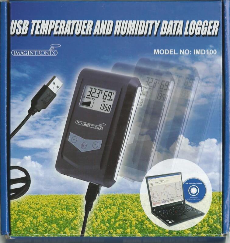 USB Temperature & Humidity data Logger