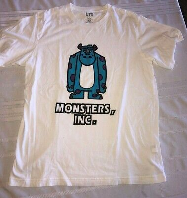 Sully Shirt Monsters Inc (Uniqlo UT Disney Pixar Monsters Inc Sully Graphic Short Sleeve Tee Shirt L)