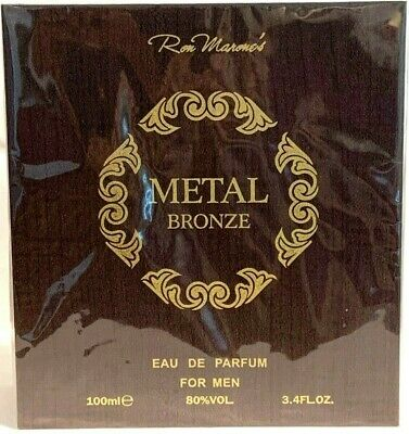 Metal Bronze / Ron Marone, Men's EDP 3.4 oz / 100 ml Spray (Metal Bronze)