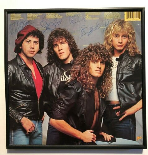 STRANGER 1982 DEBUT LP, TAMPA FLORIDA ROCK BAND, SIGNED BY BAND, GARVIN PRICE