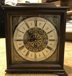 Vintage Cuckoo Clock Mfg Co Germany 11cm Lantern Carriage Style Clock