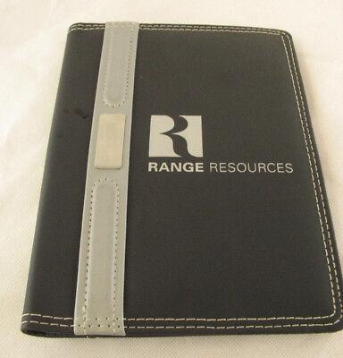 Range Resources Planner Organizer Business Card Holderoilfield Petroleum