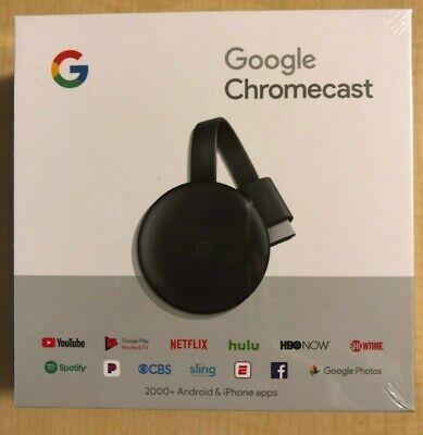 NEW Google Chromecast 3rd Gen Digital HDMI Media Streaming (2018 NEWEST VERSION)