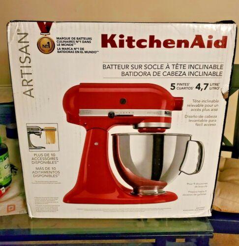 KitchenAid  Artisan Tilt-Head 5 Quart Stand Mixer - Empire Red