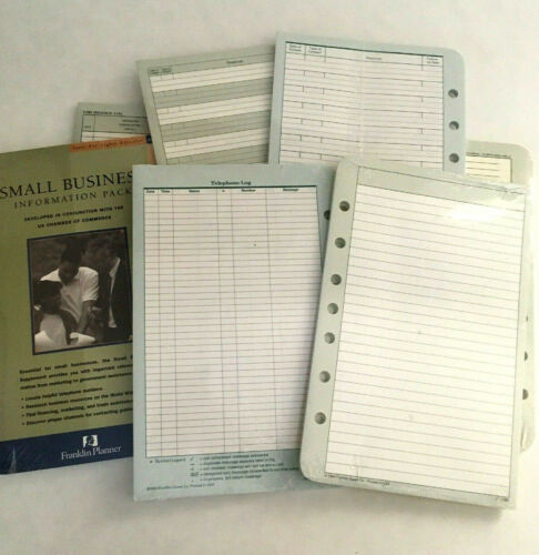 Franklin Covey vintage NOS Classic refill packs