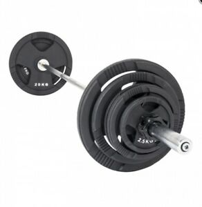 SAVE $84 on 100kg Olympic Barbell and Weight Plate Package 💪